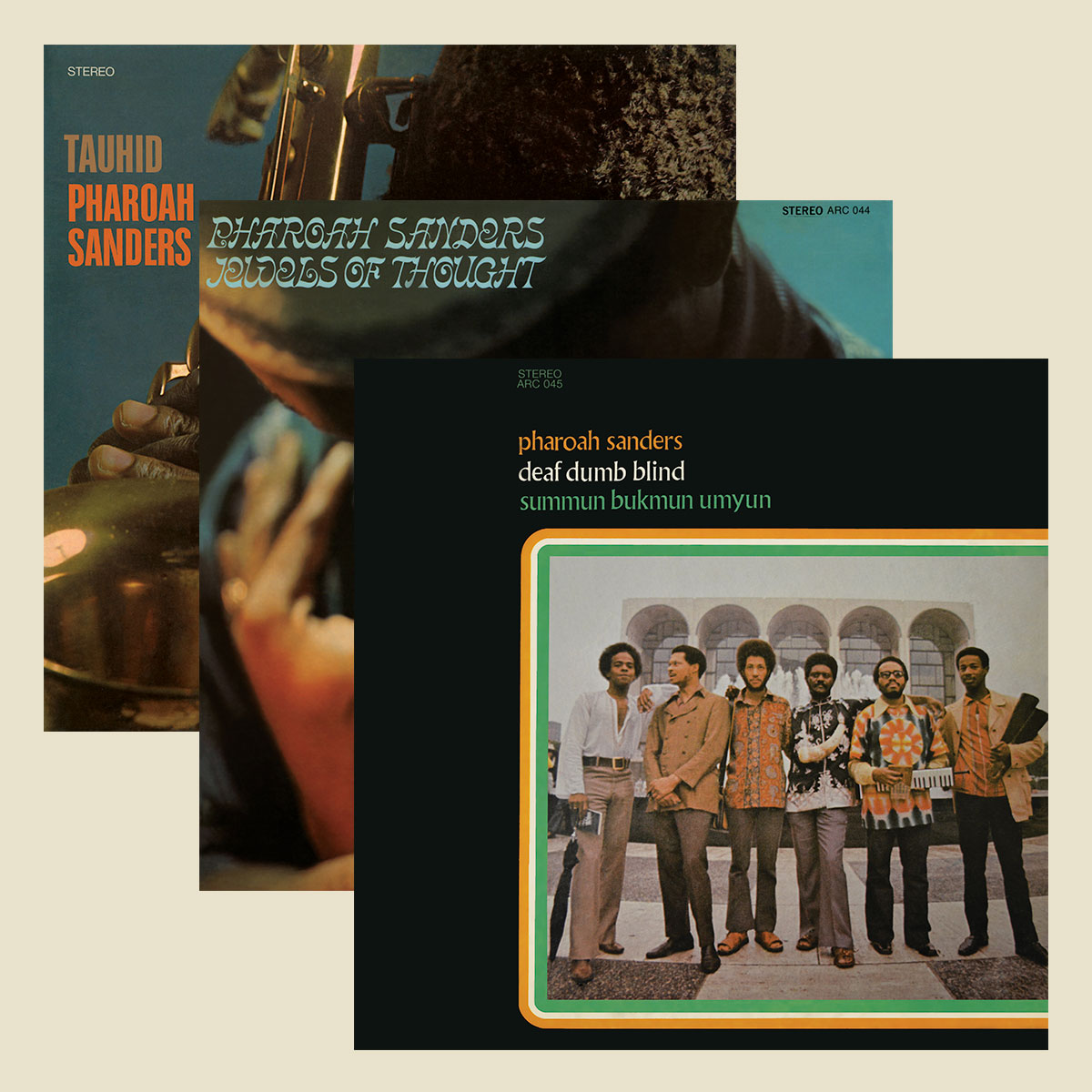Pharoah Sanders reissues