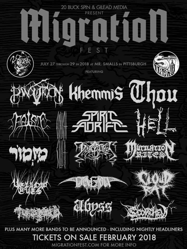 Migration Fest 2018 lineup