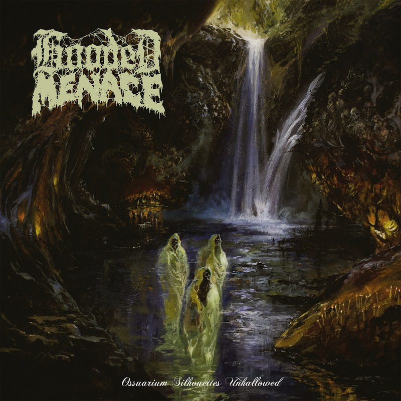 Hooded Menace Ossuarium Silhouettes Unhallowed review