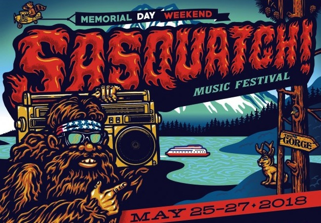 Sasquatch! Music Festival announces this year's lineup
