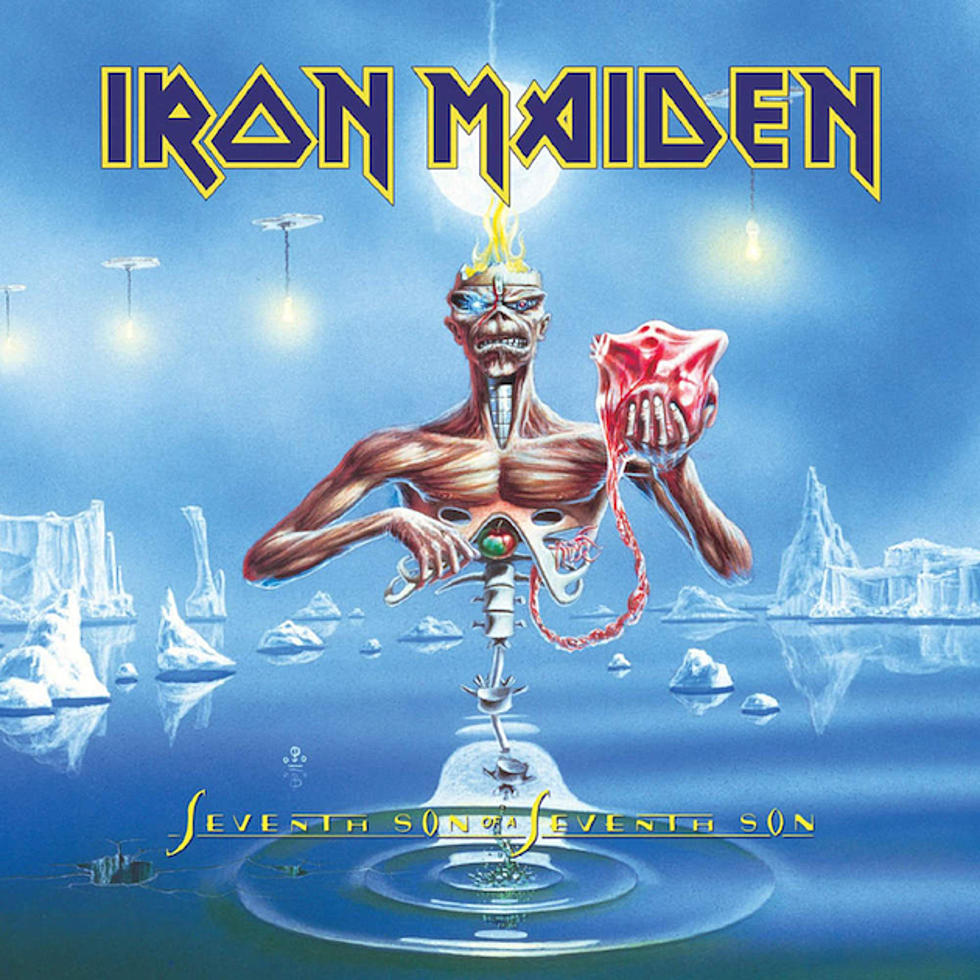 Iron Maiden Seventh Son hall of fame 30th anniversary