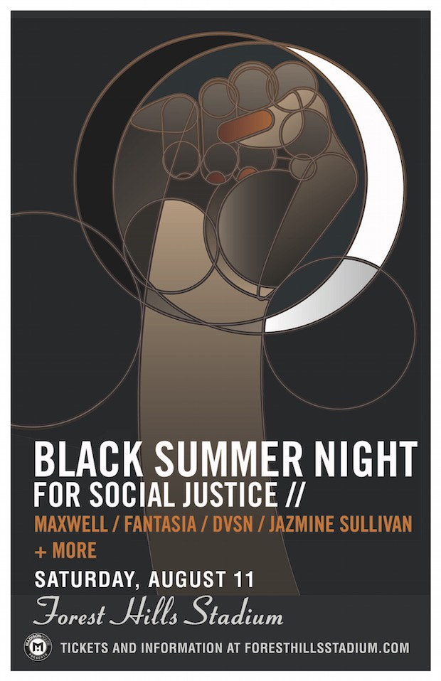 Maxwell Black Summer's Night for Social Justice
