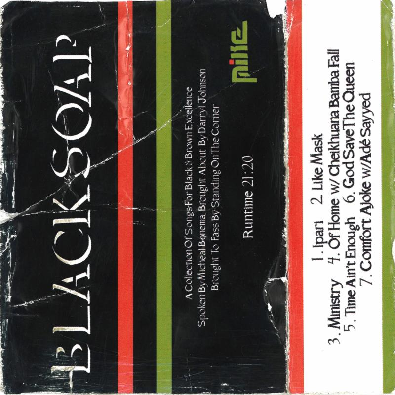 MIKE New EP Black Soap