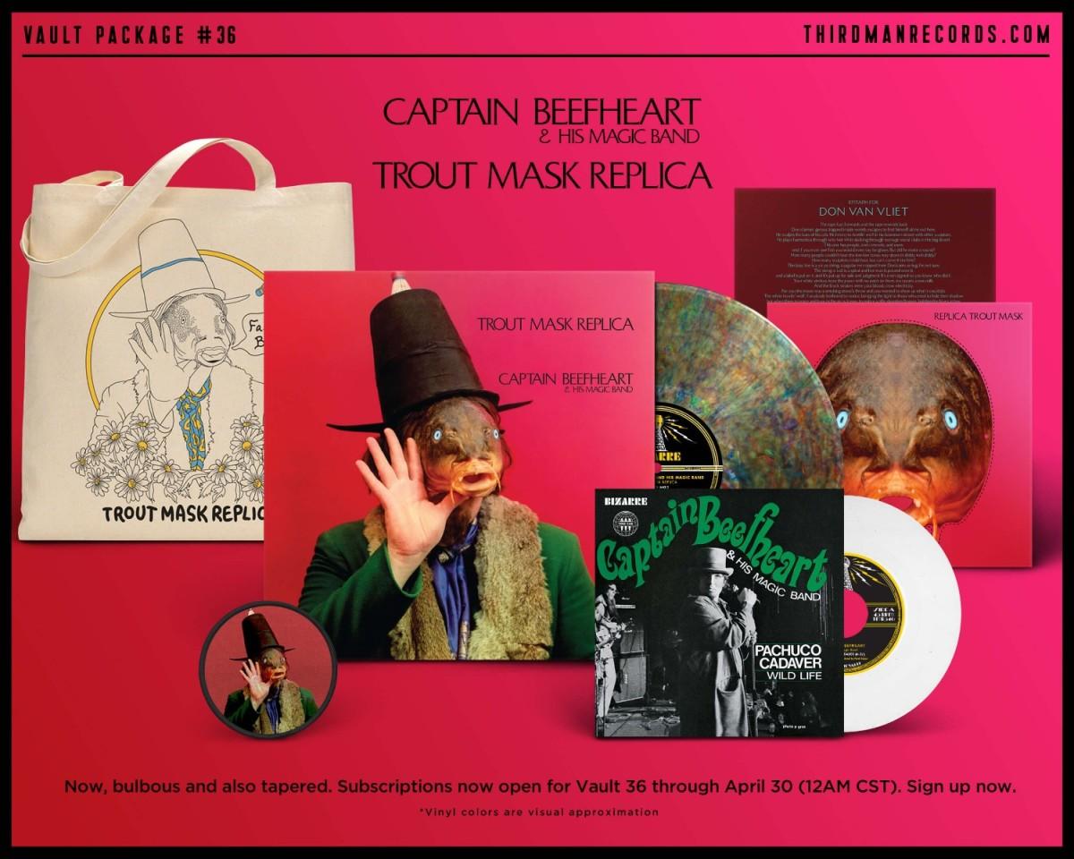 Captain Beefheart Trout Mask Replica reissue
