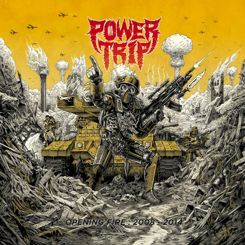 Power Trip new compilation early material