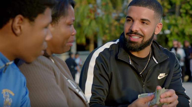 Drake degrading the charts