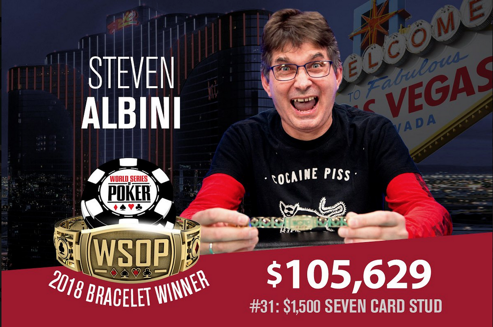 Steve Albini poker tournament