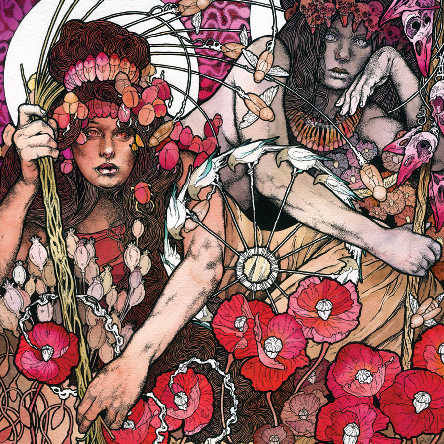 Baroness metal album cover art
