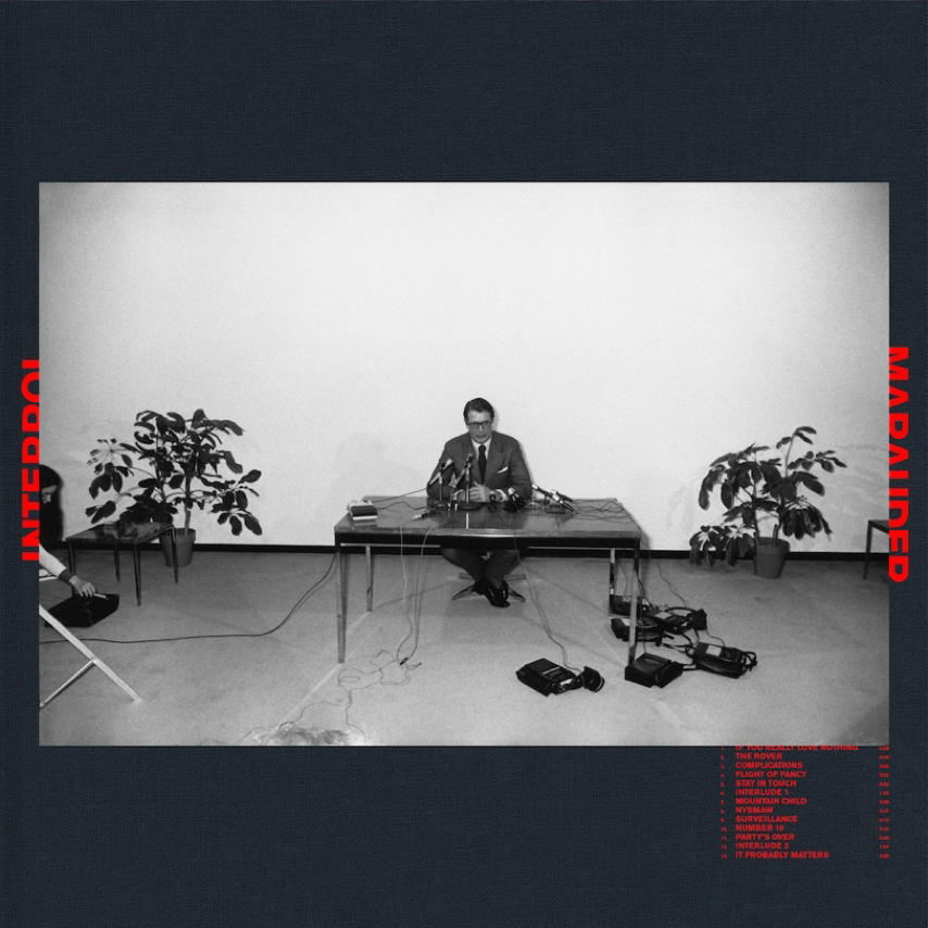 Interpol new album Marauder