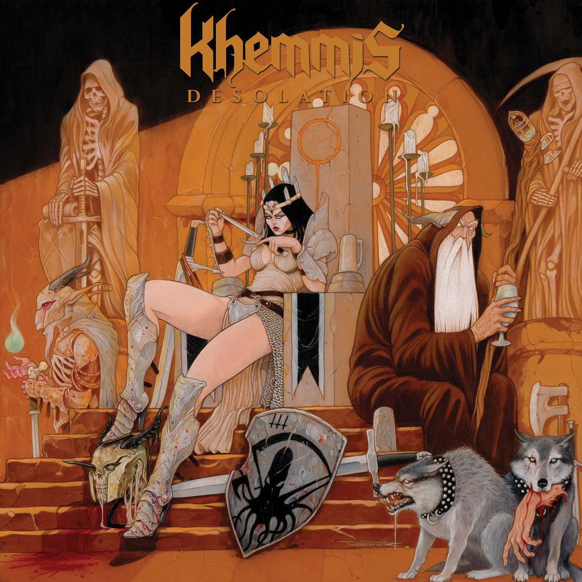 Khemmis metal album art