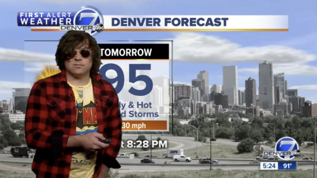 Ryan Adams weather report Denver 7