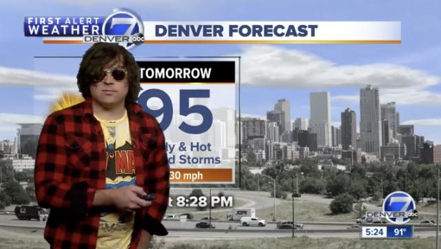 Ryan Adams weather report Denver 7