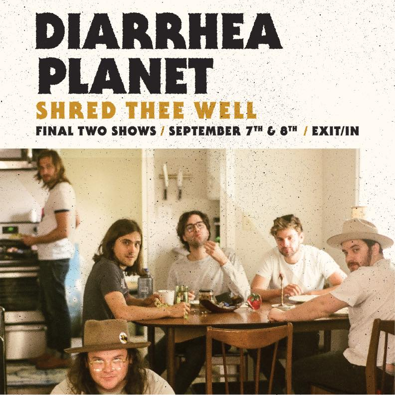 Diarrhea Planet final shows
