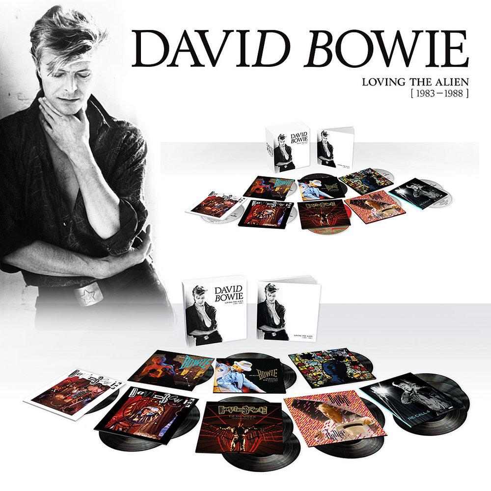 Bowie Loving the Alien box set