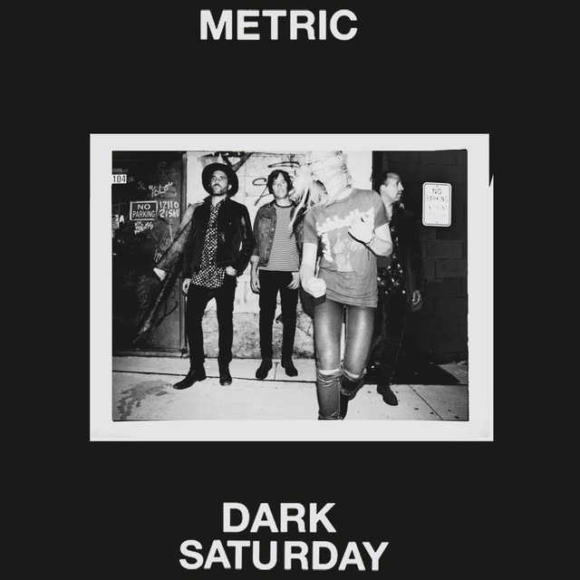Metric new track Dark Saturday
