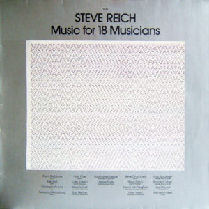 Steve Reich one-track albums