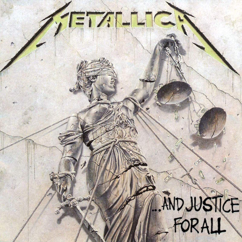 Metallica And Justice for All Hall of Fame 30th anniversary