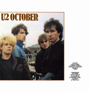 best u2 songs october