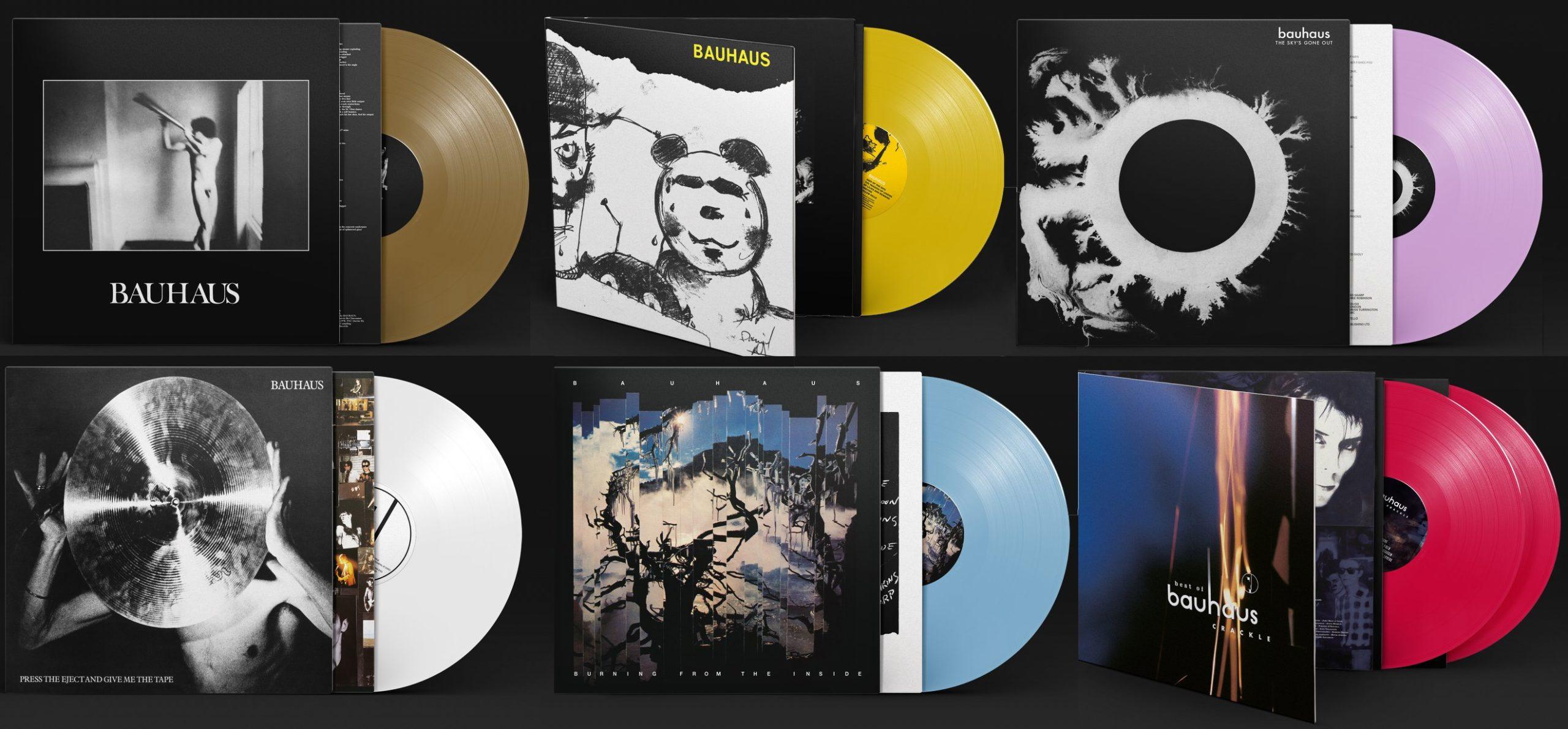 Bauhaus vinyl reissues