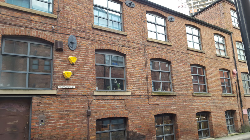 Factory Records Manchester Little Peter Street