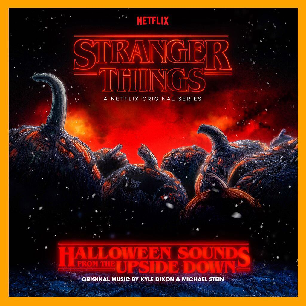 Halloween Sounds from the Upside down vinyl