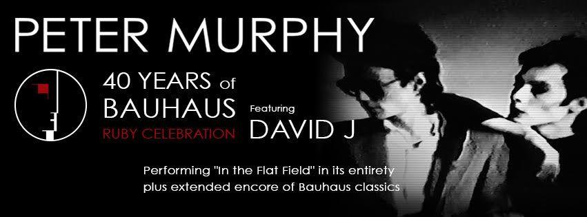 Peter Murphy tour 2019