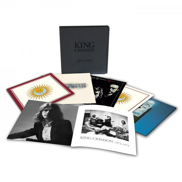 King Crimson box set 50th anniversary reissue