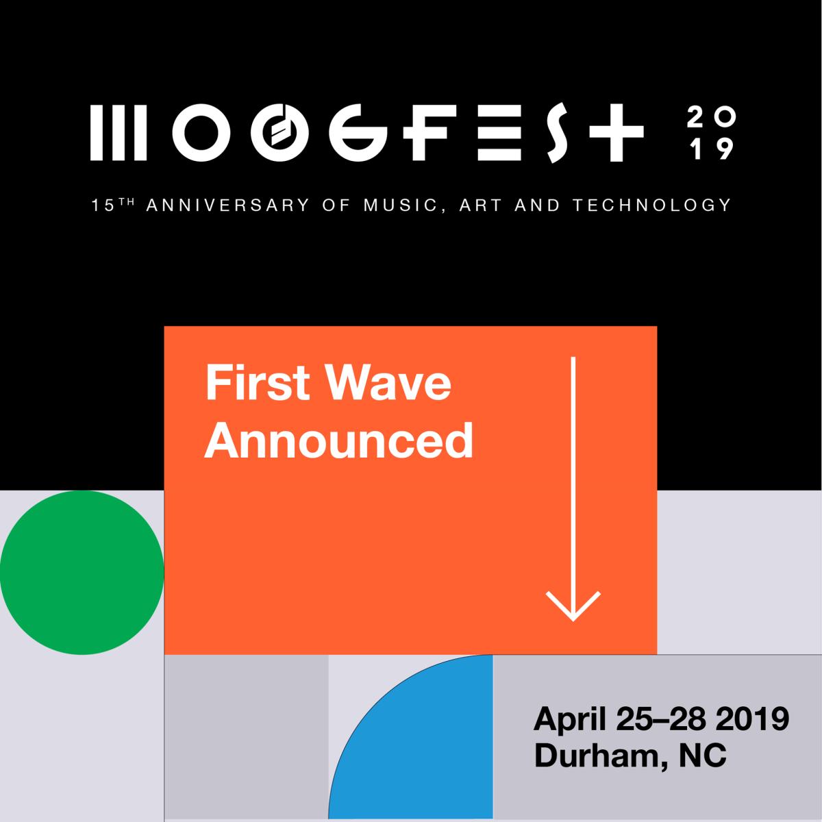 Moogfest lineup 2019