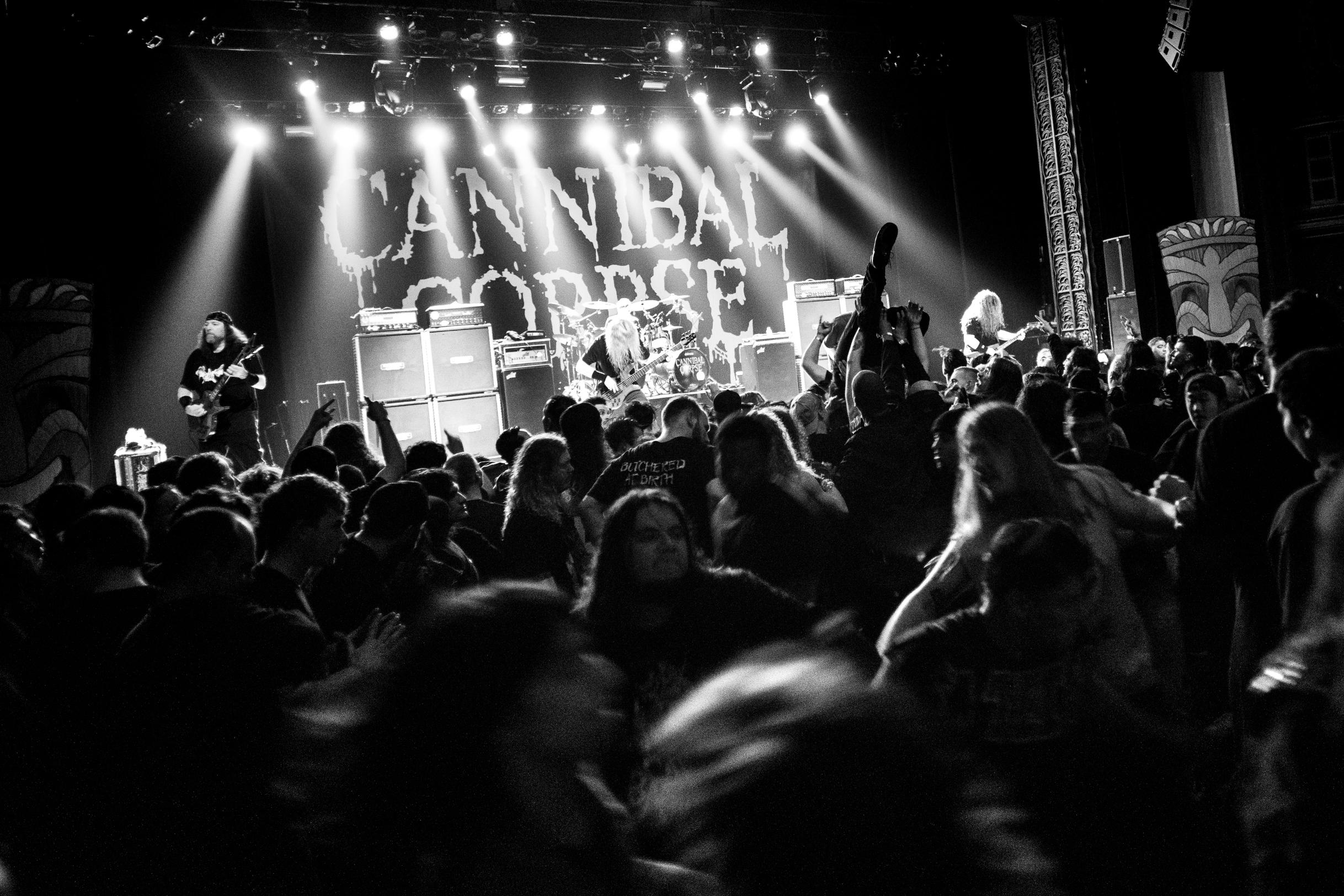 Cannibal Corpse performs at Decibel Magazine Tour 2019