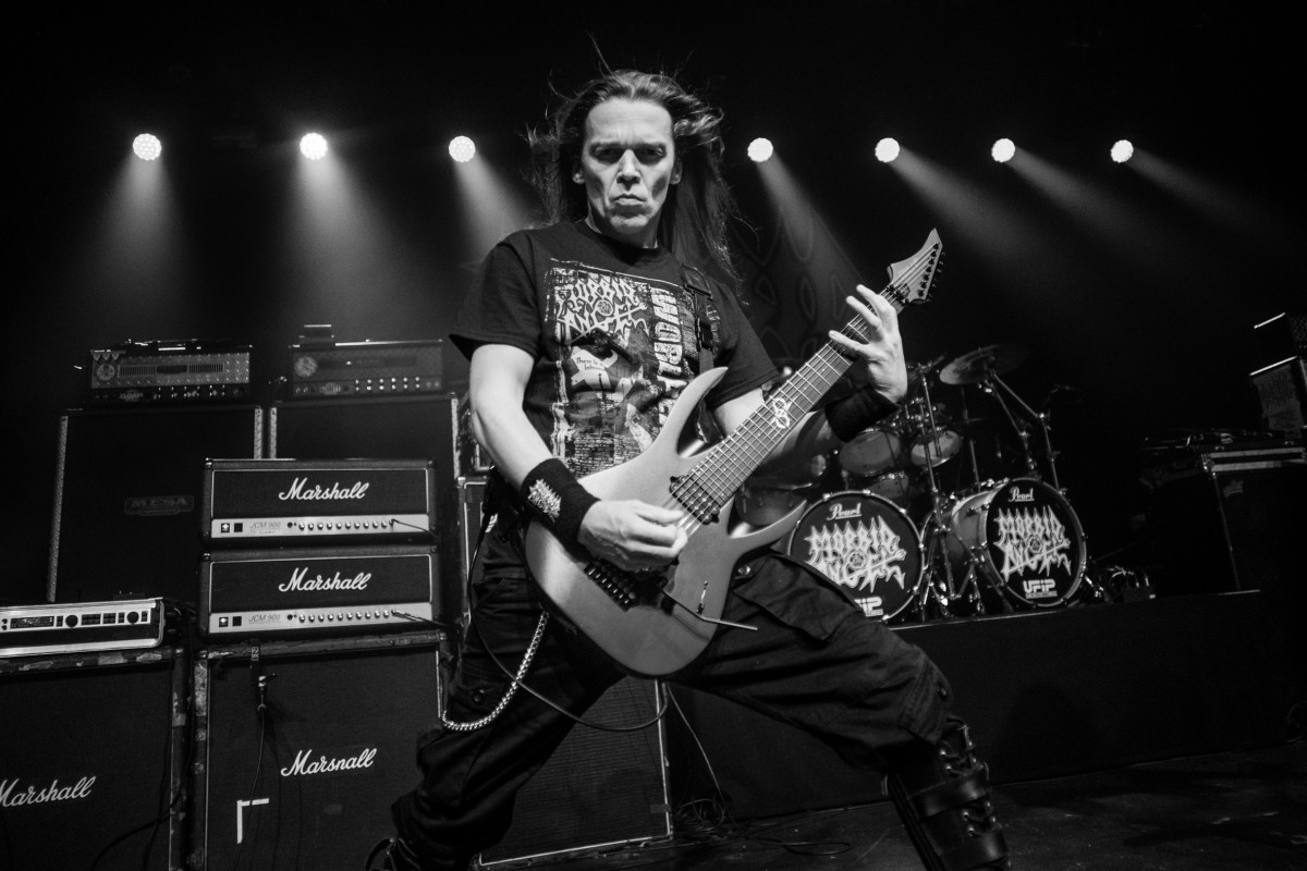 Morbid Angel performs at Decibel Magazine Tour 2019