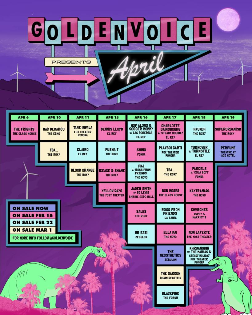 Coachella Sideshows 2019