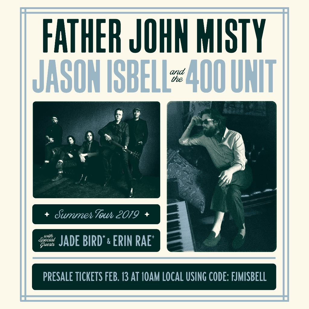 Father John Misty Jason Isbell tour