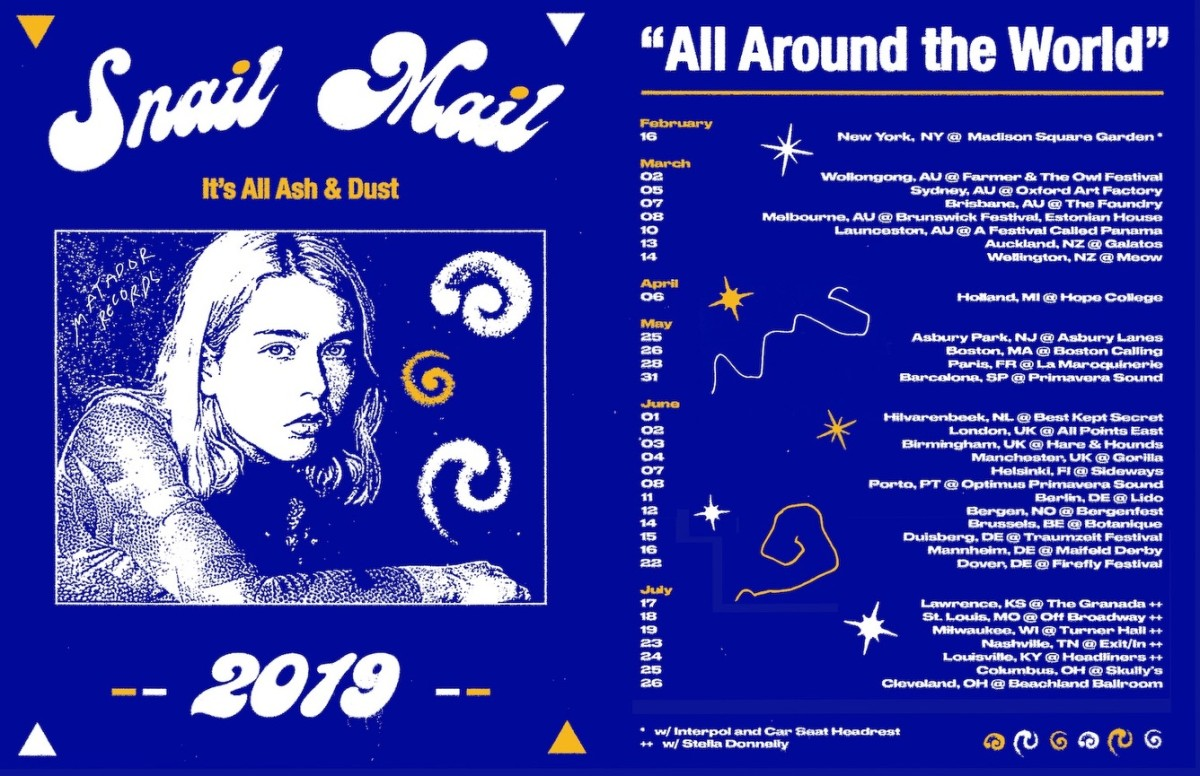 Snail Mail announces 2019 tour dates