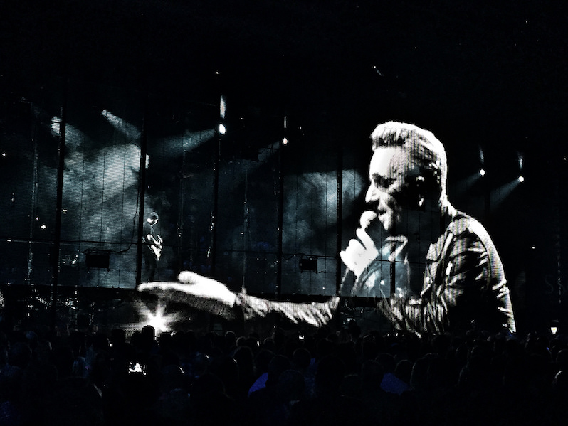 U2 live shut up and play the hits