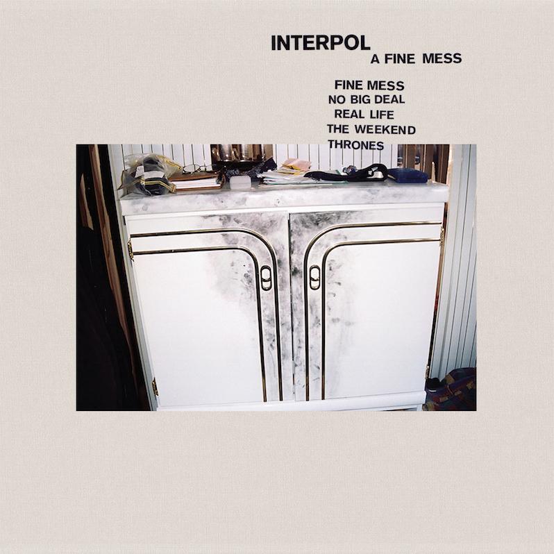 Interpol new EP a Fine Mess