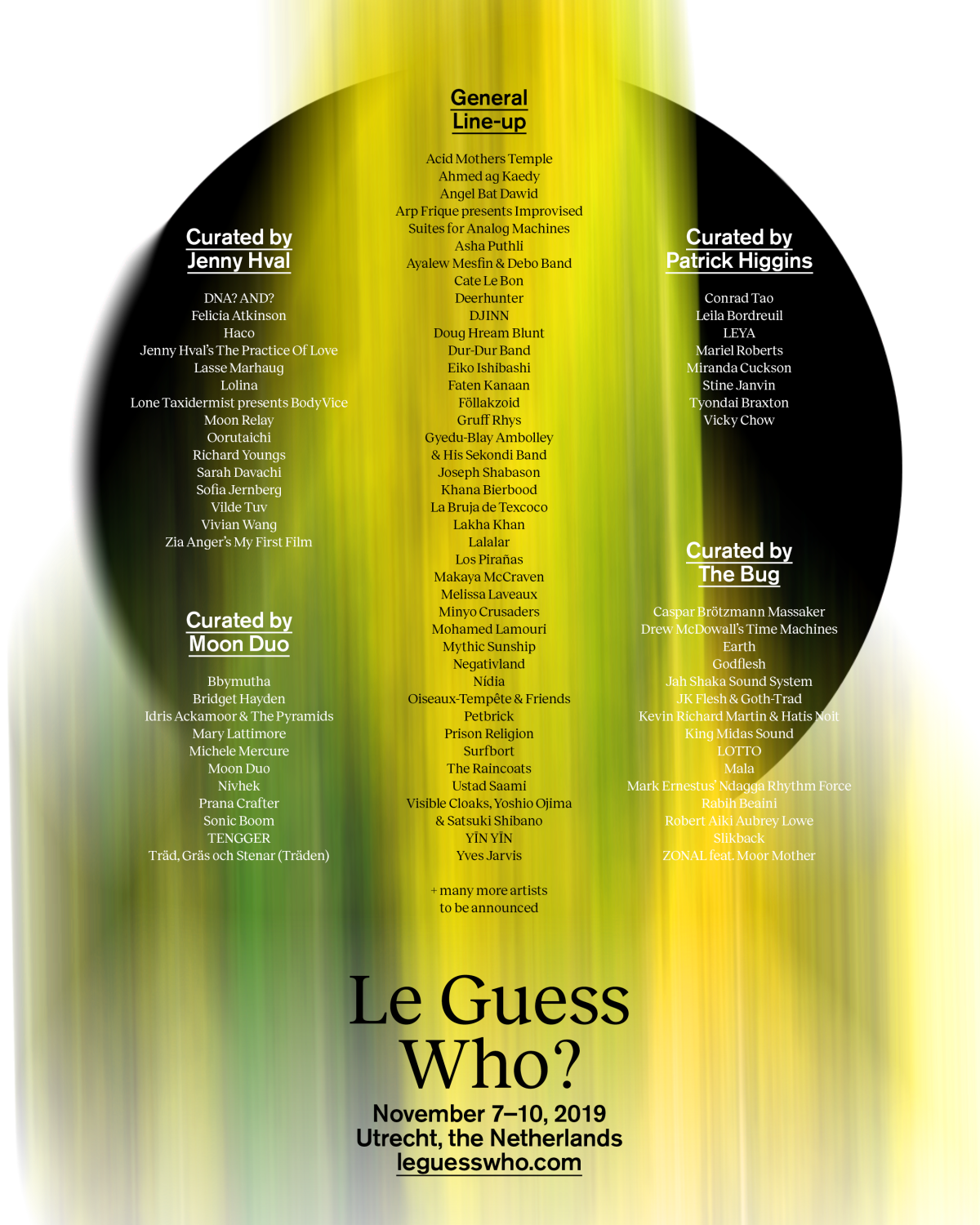 Le Guess Who lineup
