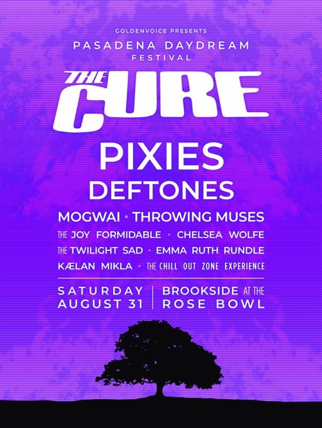 The Cure Pasadena Daydream festival