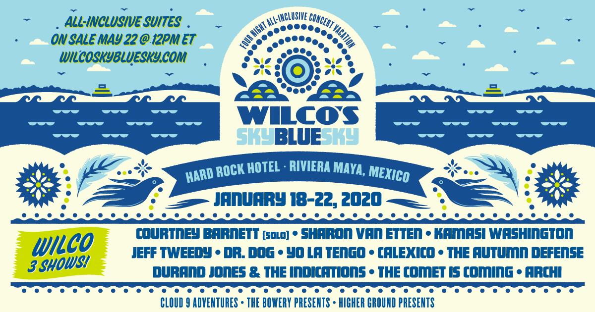 Wilco Sky Blue Sky festival