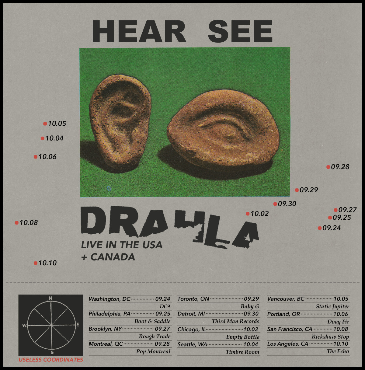 Drahla North America tour