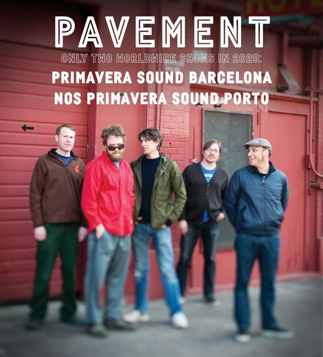 Pavement reunion shows