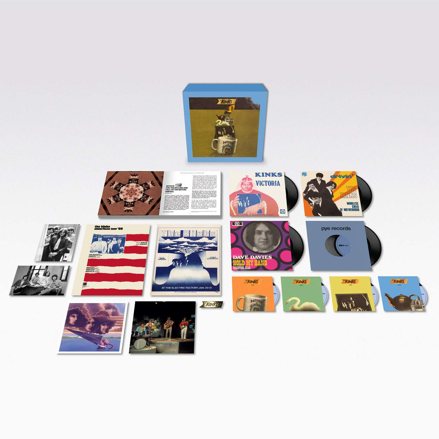Kinks Arthur box set