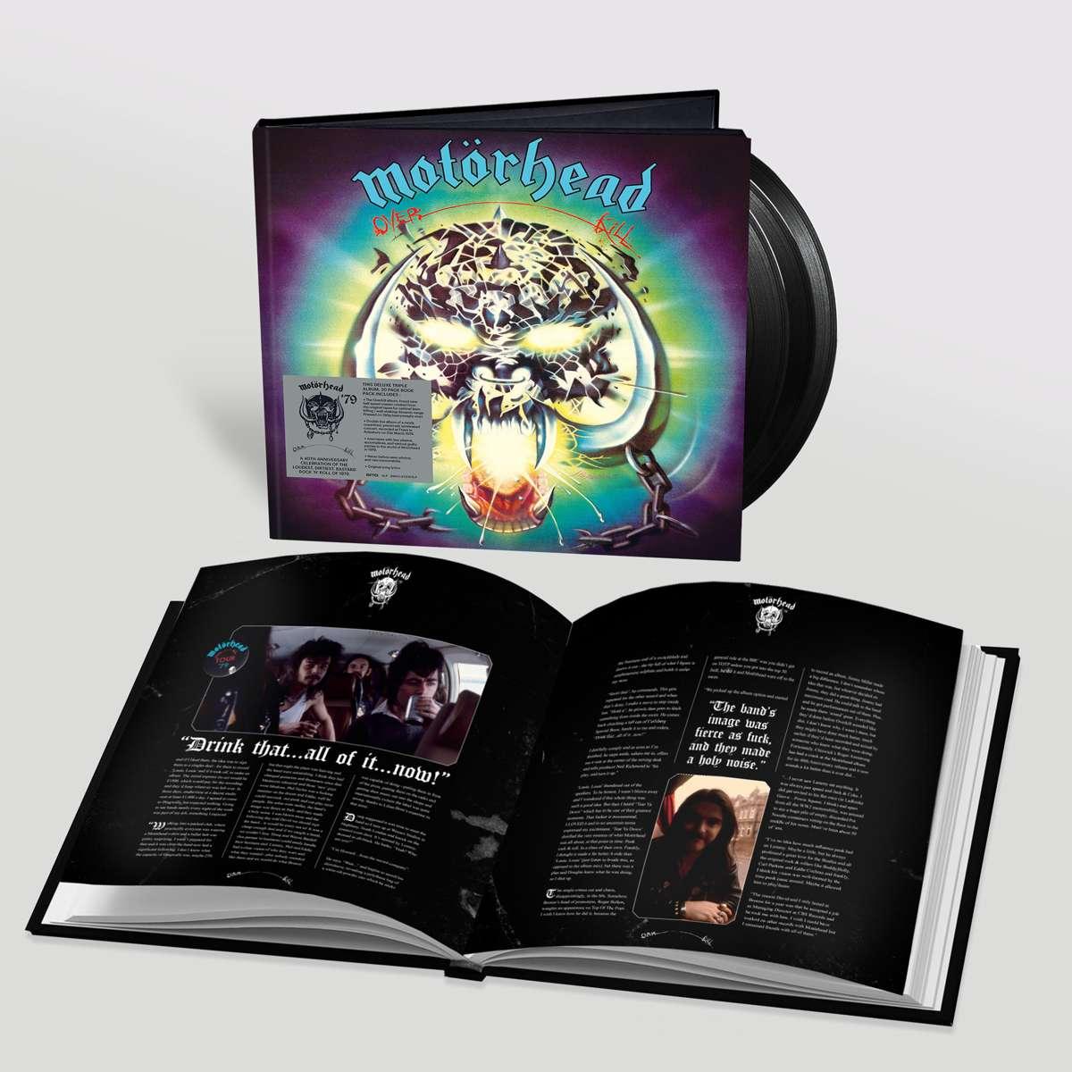 Motorhead Overkill reissue