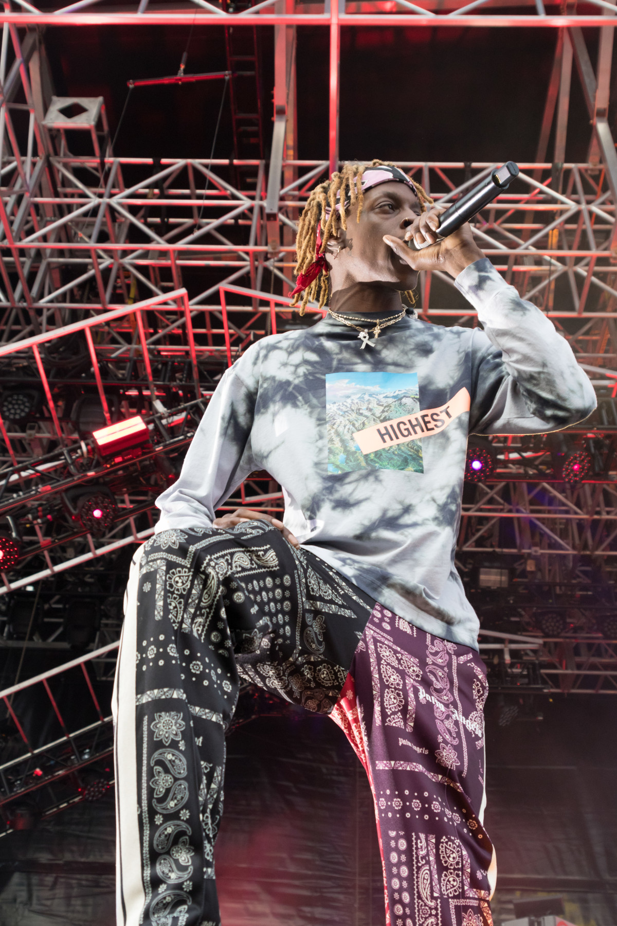 Underachievers perform live at Pier 17 in New York on August 22 2019