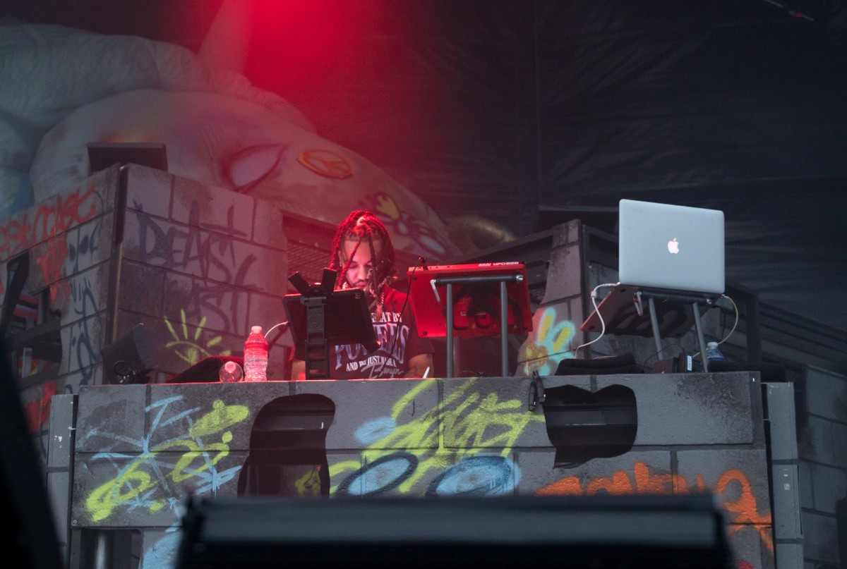Powers Pleasant live at Pier 17 in New York on August 22 2019