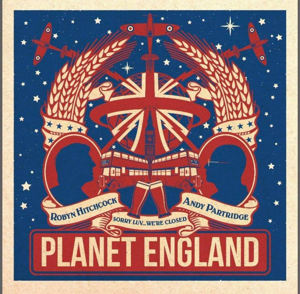 Robyn Hitchcock Andy Partridge collaborative EP Planet England