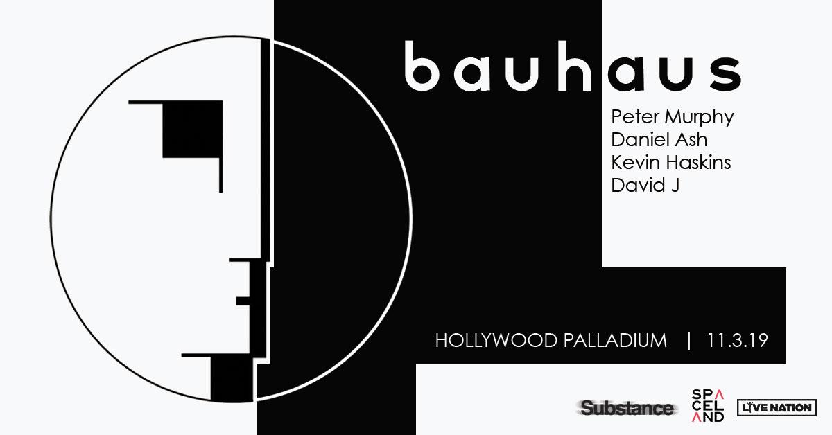 Bauhaus reunion show