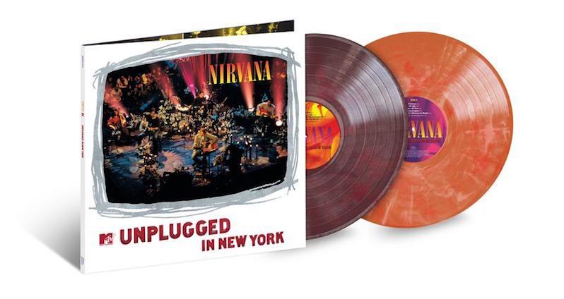Nirvana Unplugged vinyl reissue