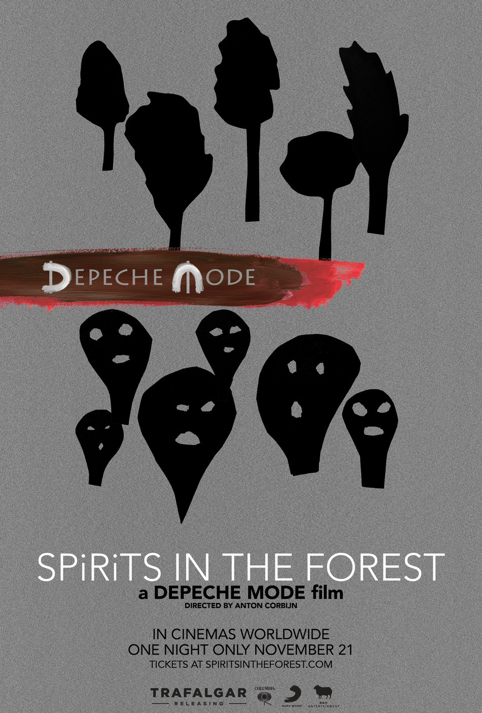 Poster for Depeche Mode- SPIRITS in the Forest