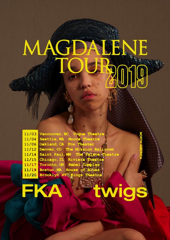 FKA Twigs tour dates