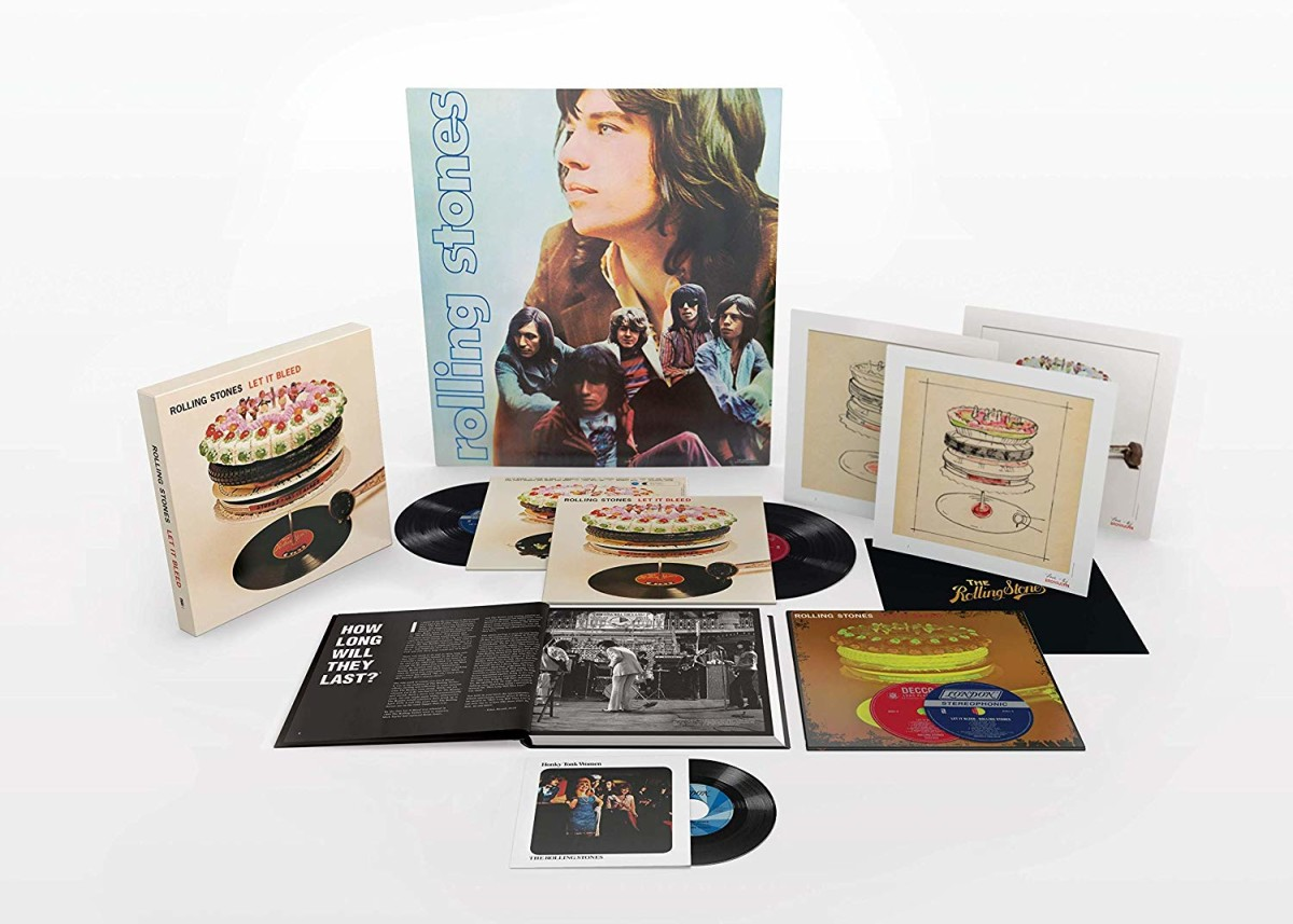 Rolling Stones Let It Bleed anniversary reissue